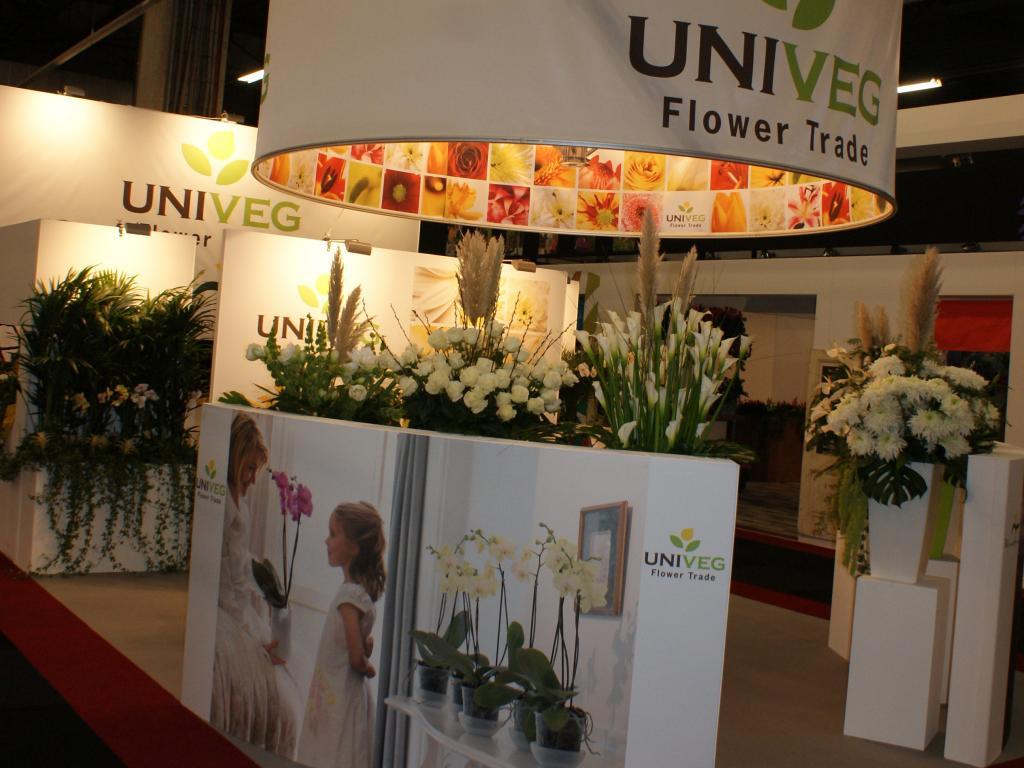 Univeg flower trade